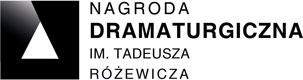 Logo - Gliwicka Nagroda Dramaturgiczna im. Tadeusza Różewicza
